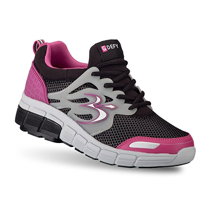 Gravity Defyer Women's G-Defy Galaxy Black Pink Athletic Shoes