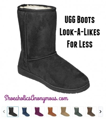 UGG Boots Look-A-Likes for Less