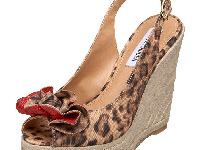 Steve Madden Fauntain Ornamented Wedge Sandals