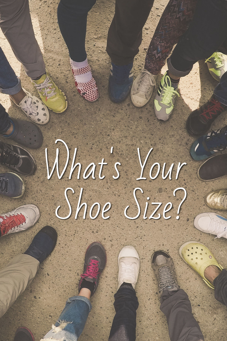 Whats your shoe size how to convert your shoe measurements cant afford new shoes buy now pay later nvjuhfo Image collections