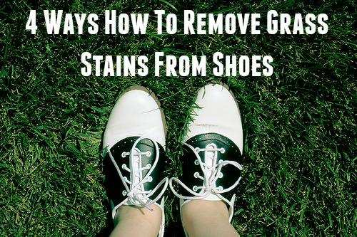 4 Ways How To Remove Grass Stains From Shoes Shoeaholics Anonymous Shoe Blog