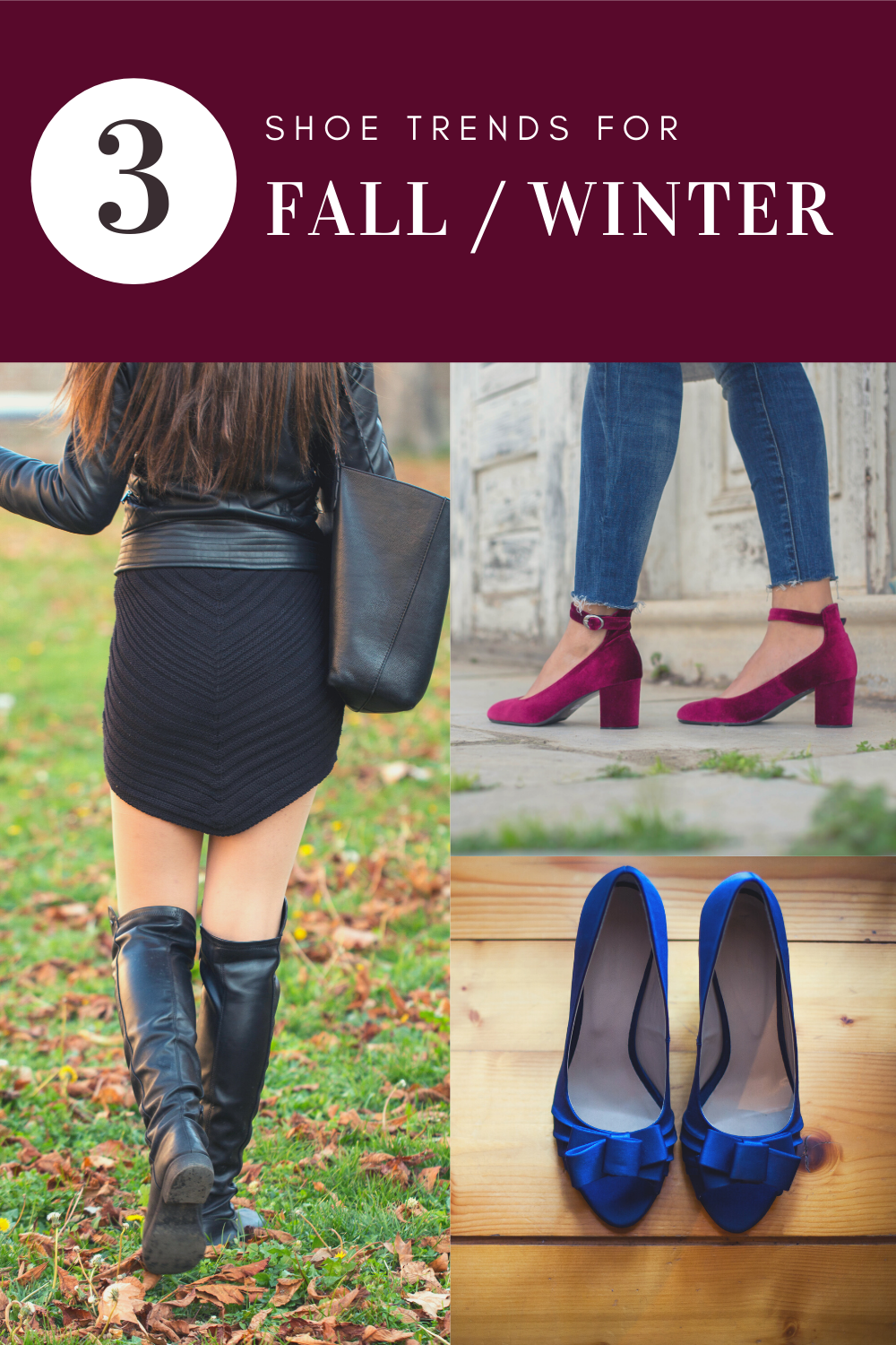 3 Shoes Trends for Fall