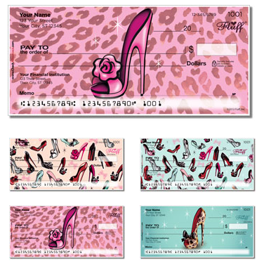 Miss Fluff Pinup Shoes Checks