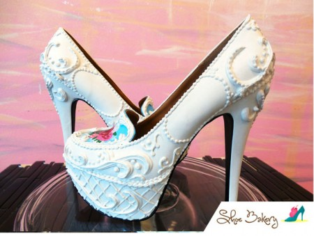 Wedding Cake Pumps Photo