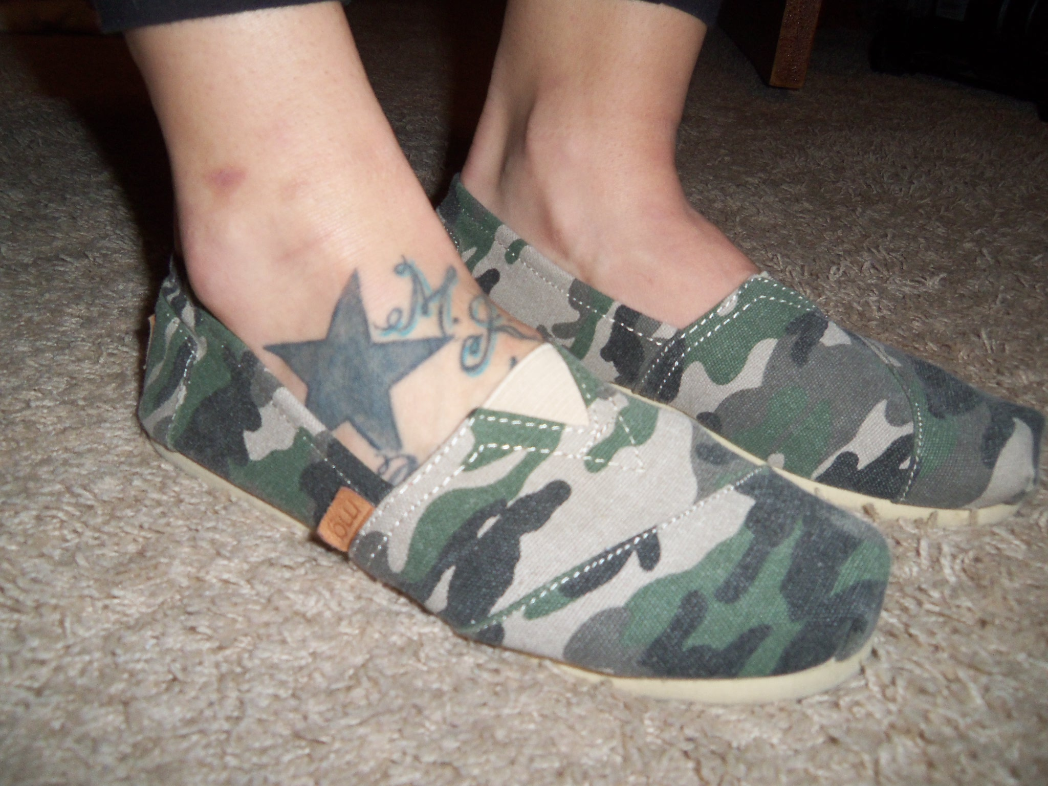Camo Canvas by Madden Girl