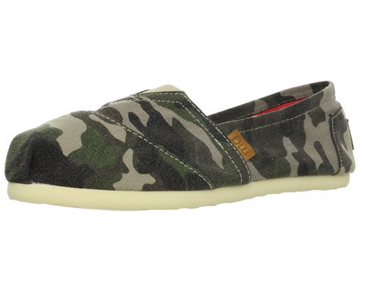 Madden Girl Gloriee Camo Flat Shoes