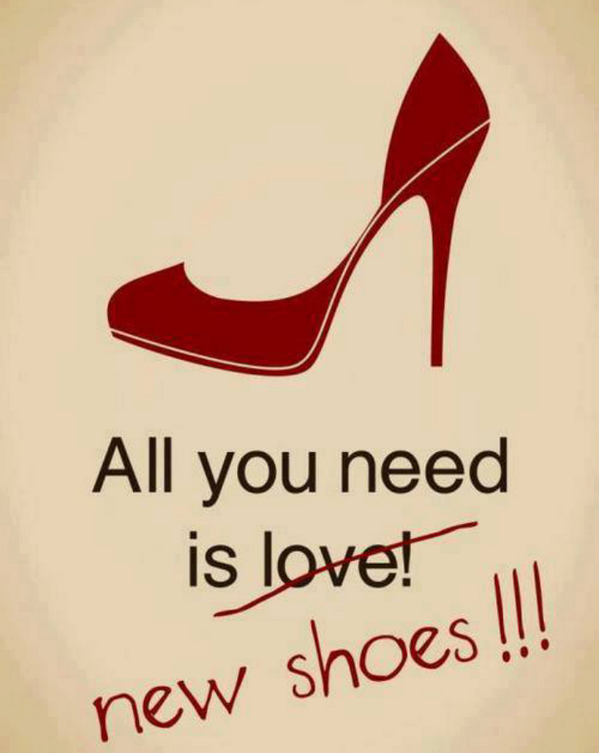 All you need is new shoes!!