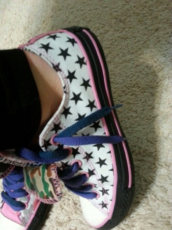 Custom Converse Sneakers Photos