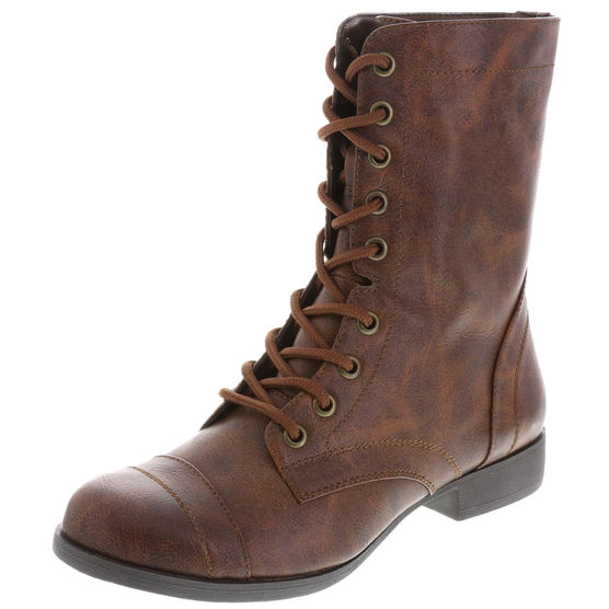 Brash Tanner Lace-Up Combat Boots