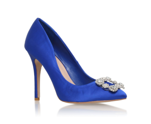 Carvela Kurt Geiger Lotty Blue Pumps
