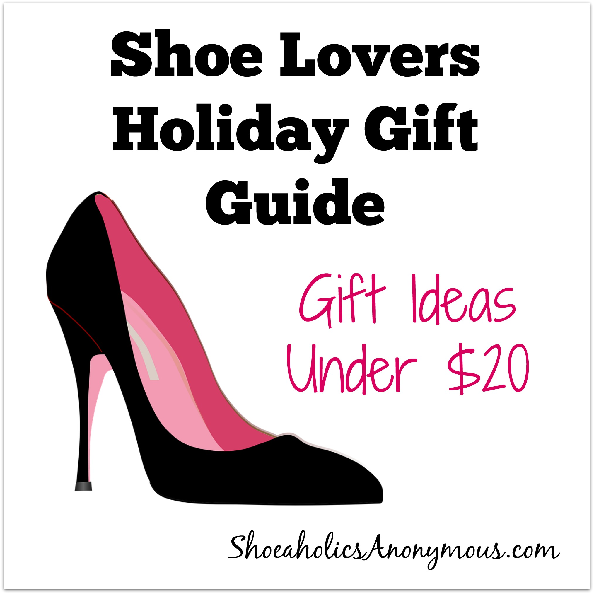 Shoe Lovers Holiday Gift Guide: 5 Gift Ideas Under $20