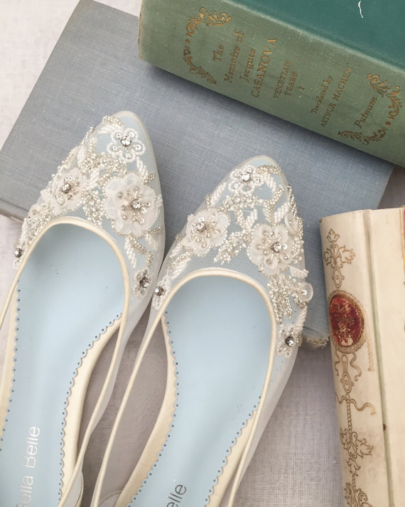 Gorgeous Flats For Your Wedding Day