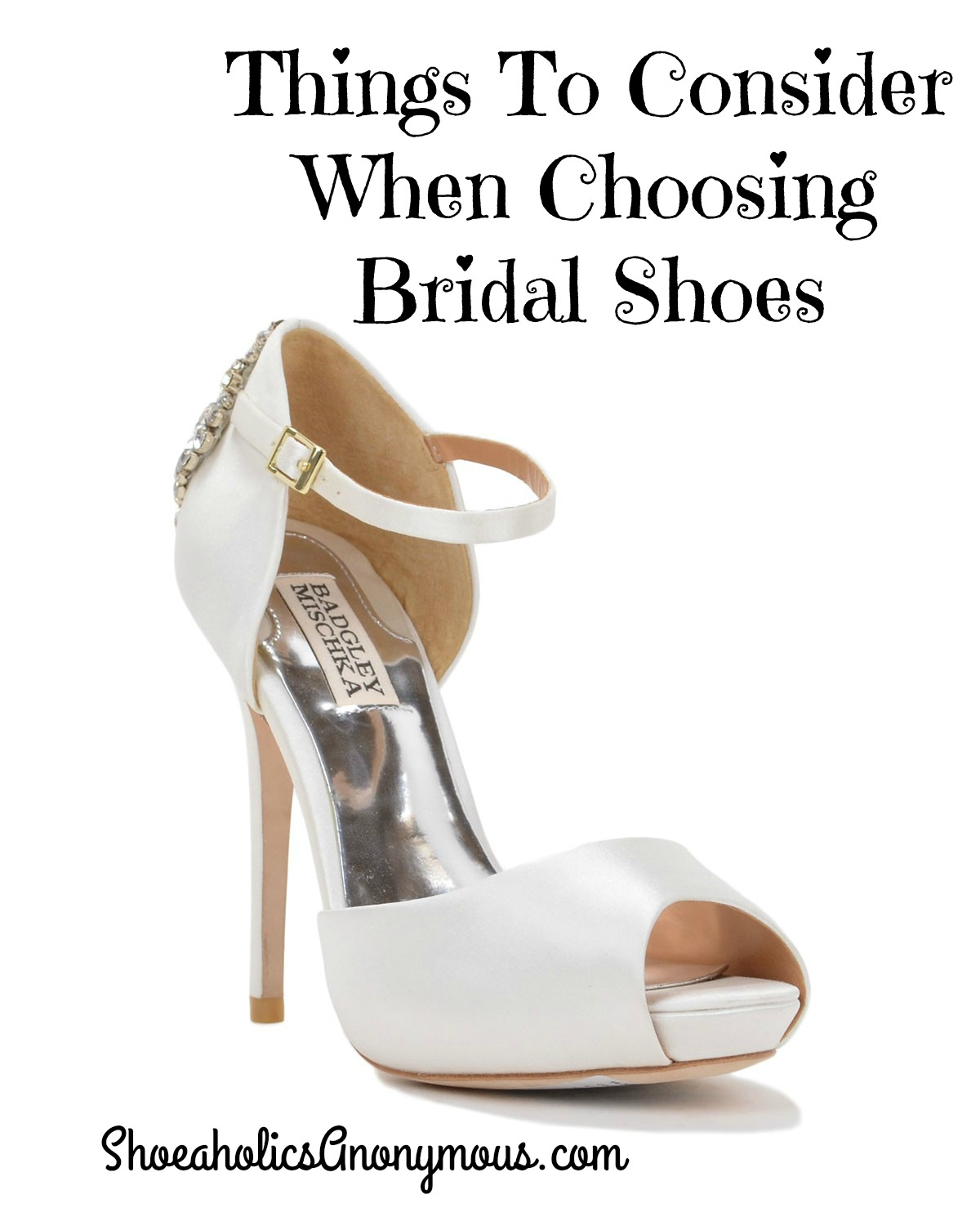 ankle strap wedding shoes things to consider when choosing bridal shoes 1313