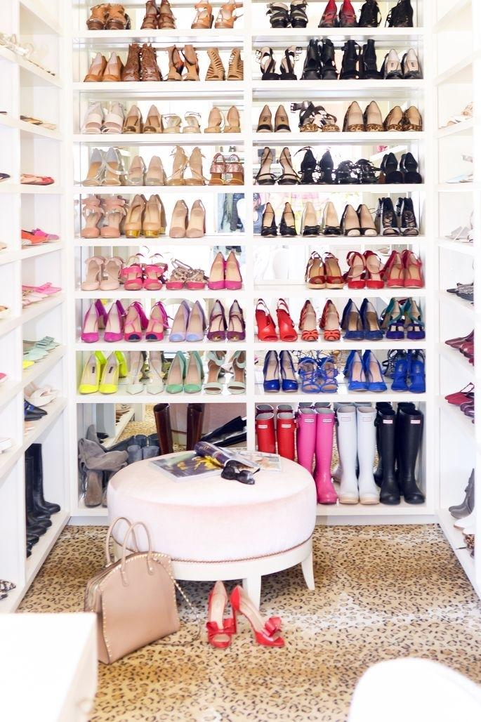 Closet Organization For Your Shoes