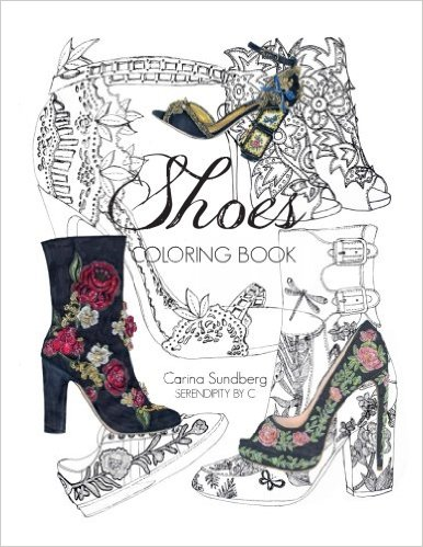 Shoes Coloring Book Paperback – September 12, 2016 by Carina Sundberg (Author)