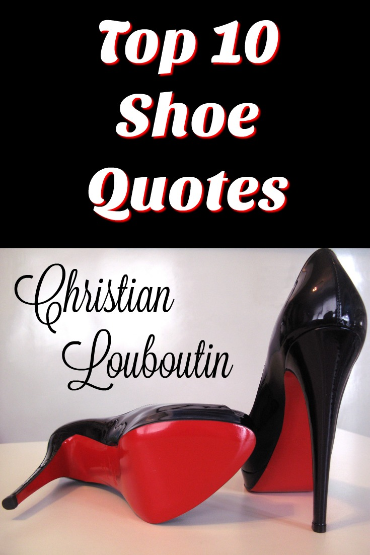 christian louboutin red quote