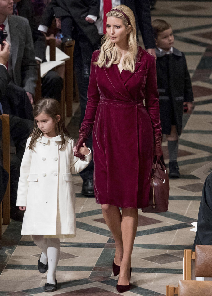Ivanka Trump wearing her own line of shoes
