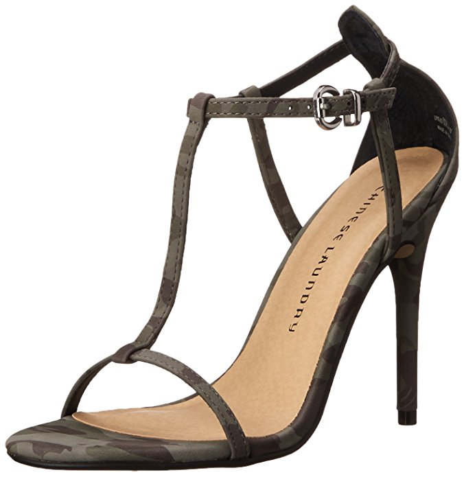 Chinese Laundry Women's Leo Camouflage Dress Sandals