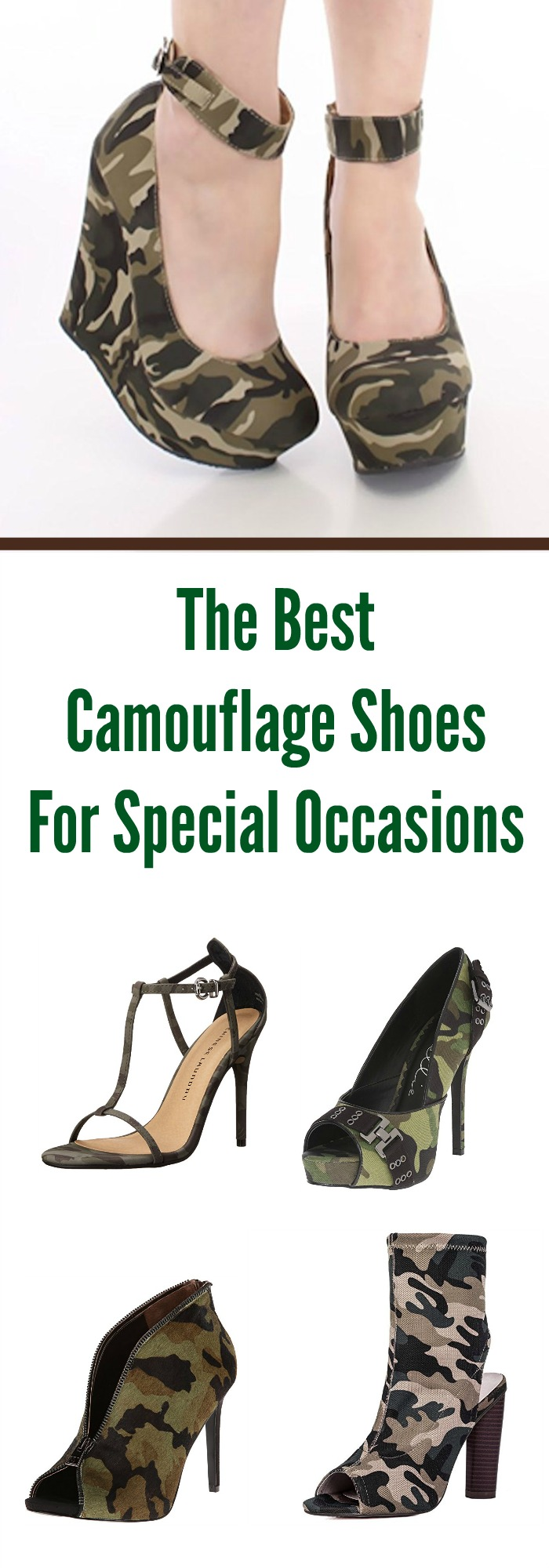 The Best Camouflage Shoes For Special Occasions