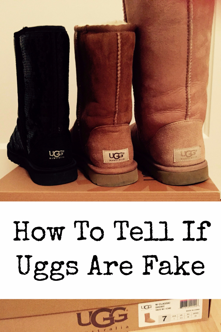 How To Tell If Uggs Are Fake