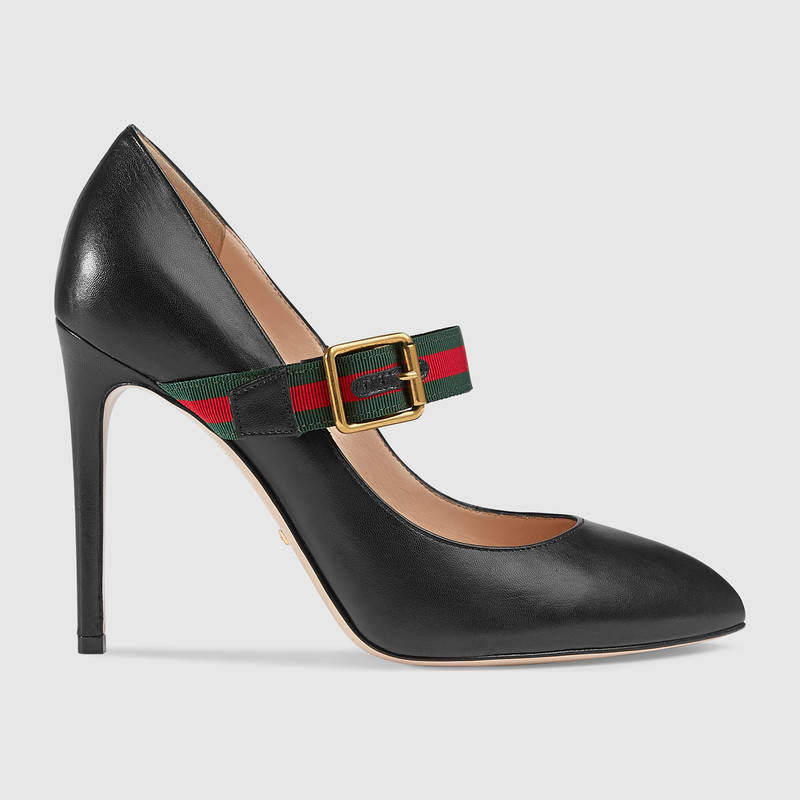 9c42d37ec82 Gucci Sylvie leather pumps