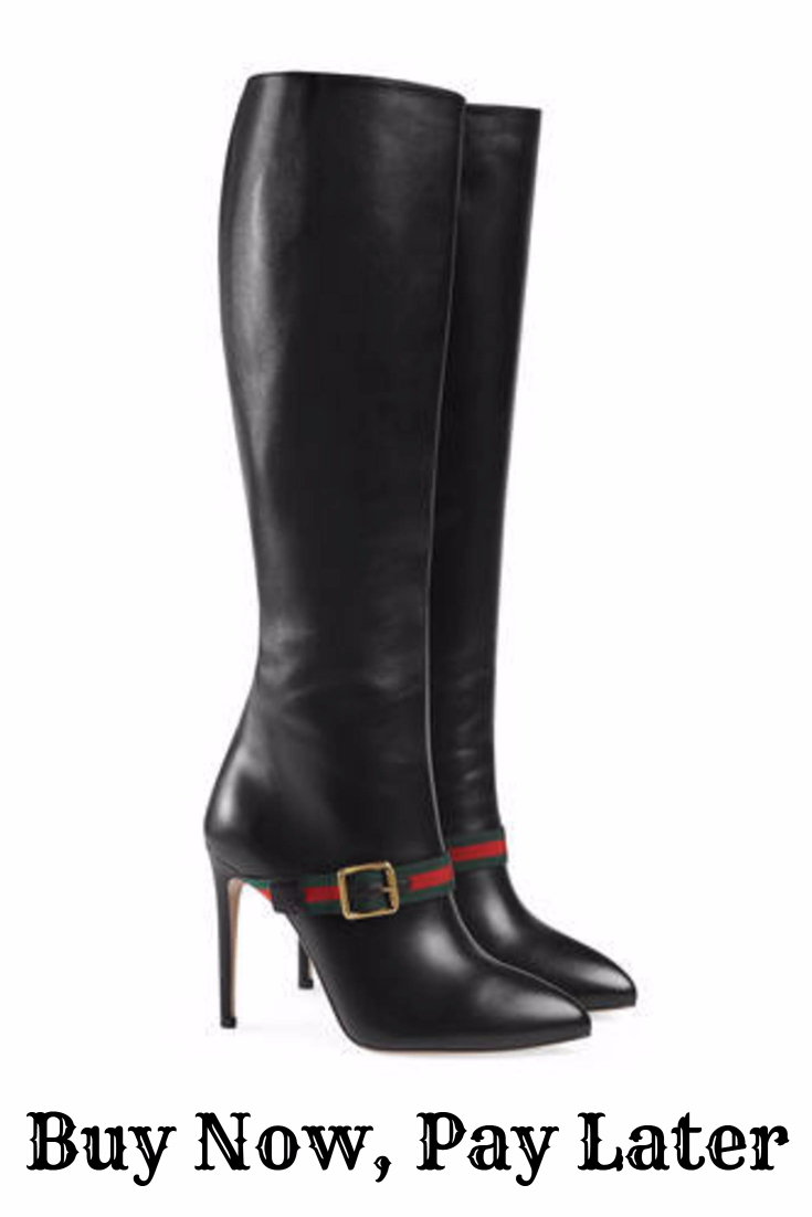 Buy Gucci Boots Now, Pay Later