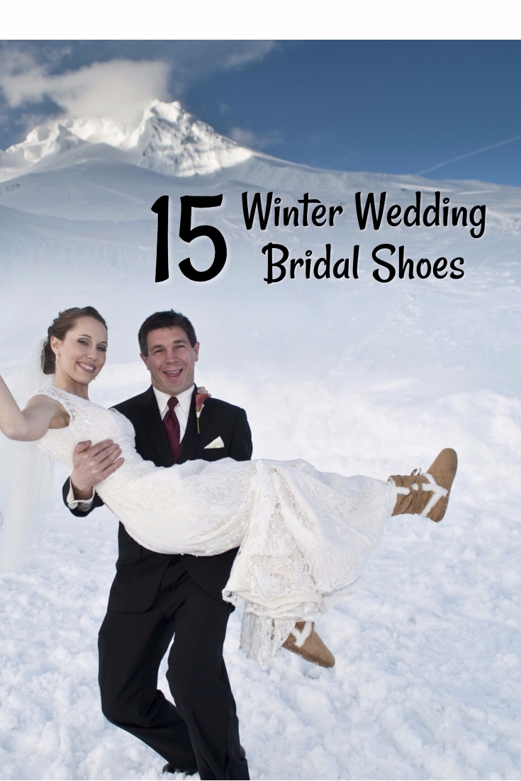 Top 15 Bridal Shoes For A Winter Wedding