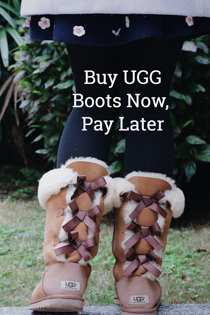 Buy UGG Boots Now, Pay Later