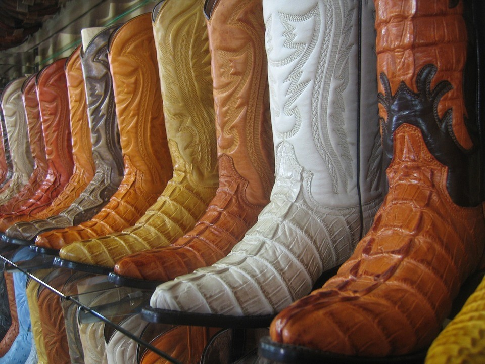 Men's Exotic Cowboy Boots – From Ostrich Leather to Other Animal Skins