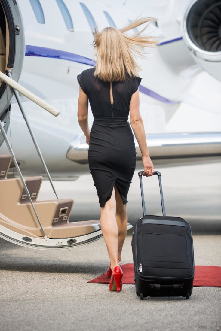 The Most Comfortable Yet Classy Shoes to Wear on a Private Jet Trip