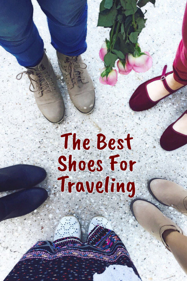 The Best Shoes For Traveling
