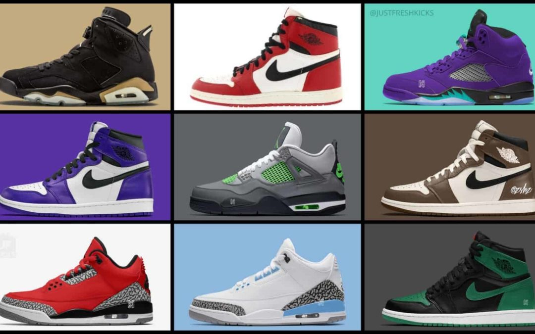 What new Air Jordan releases are coming to 2020?